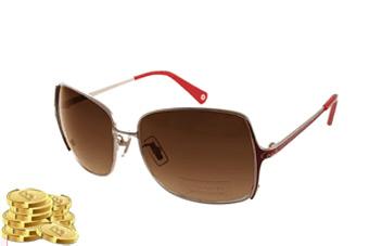 COACH太陽眼鏡 美式風格/紅色 or 樂幣115點