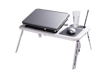【PS Mall】筆電族必備 外帶多功能折疊式電腦桌